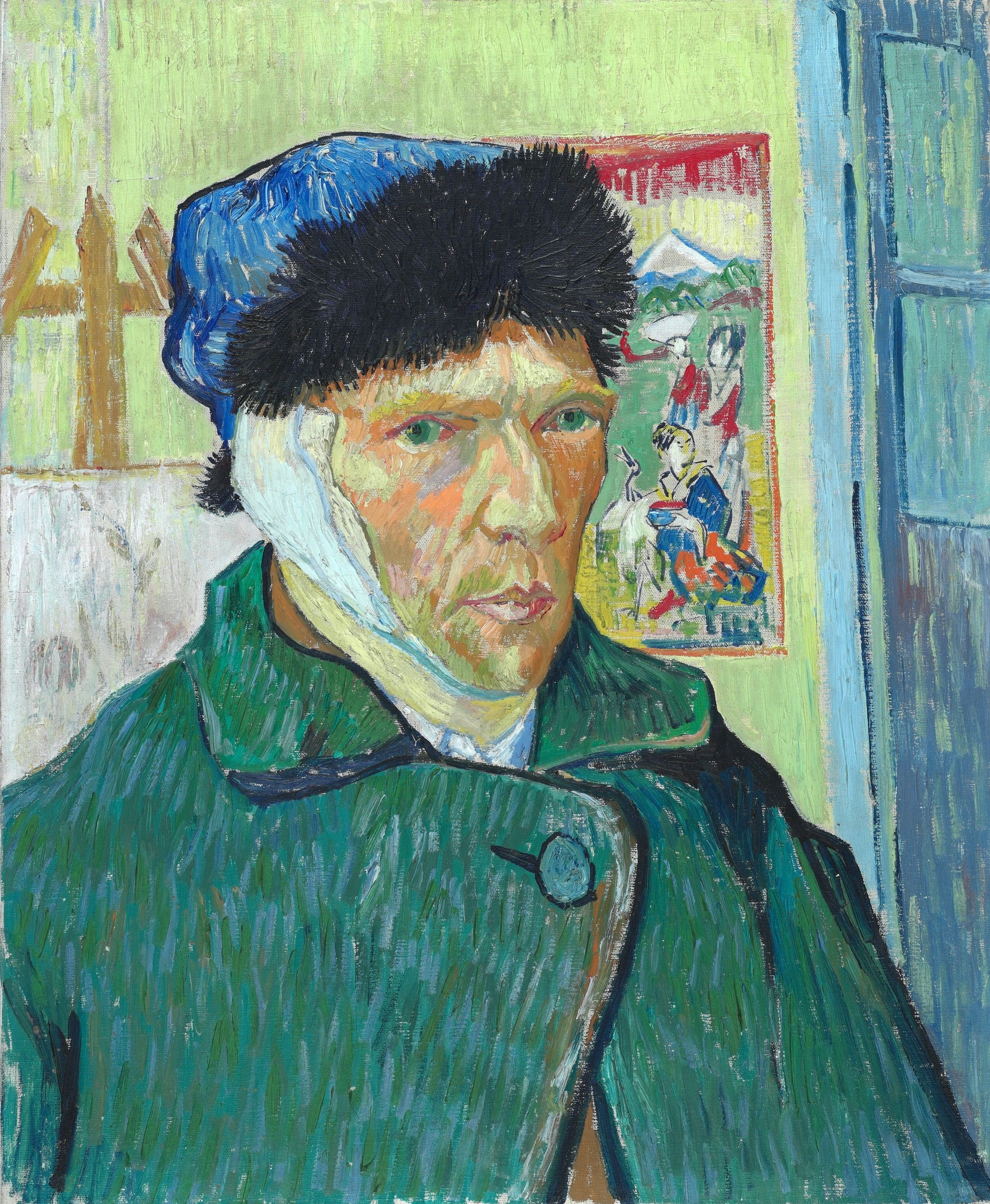 Vincent Van Gogh, 'Self-portrait with Bandaged Ear,' 1889