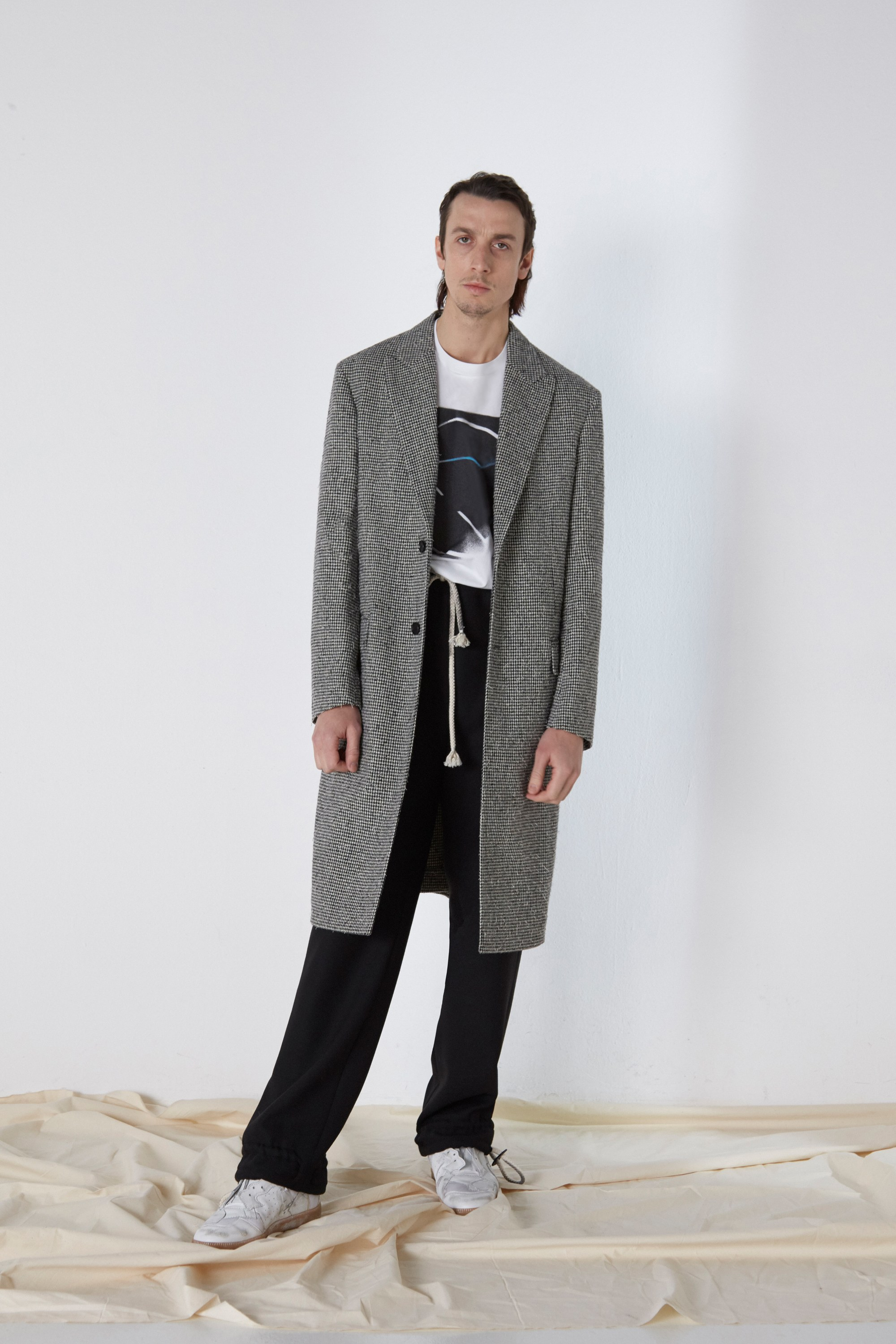As cool as possible and as comfy as possible.   Maison Margiela, Courtesy of Vogue.