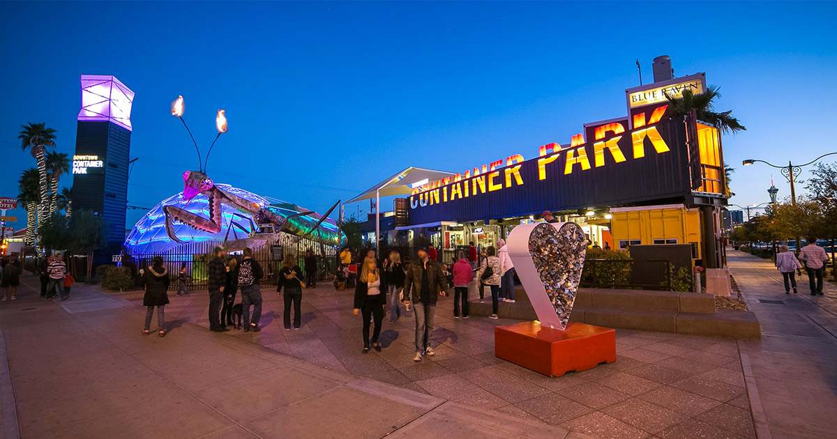 Photo courtesy of Downtown Container Park