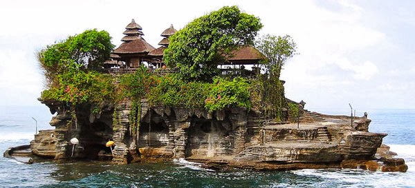 Tanah Lot Temple   this place is worth the trek and fighting the crowds. Get blessed by Hindhu priests before sunset, then nestle down by the first temple Pura Batu Bolong as it is much less crowded. - Michelle Case   +62 361 880361