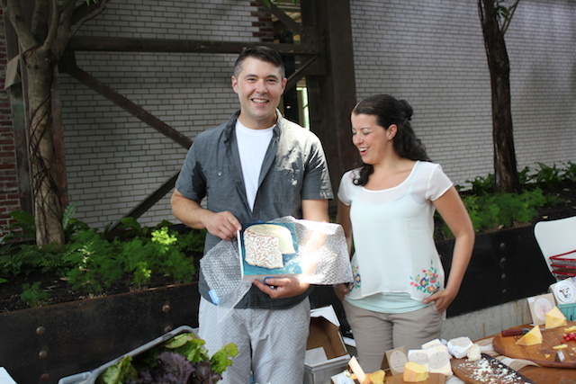 Sam Kennedy and Stacey Gentile of Doe Run Farm | Photo by  Madame Fromage