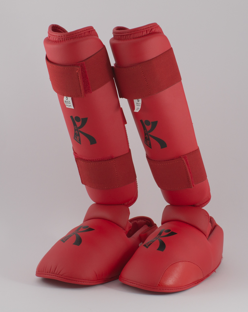 Shin & Instep  Available in Red, Blue and White