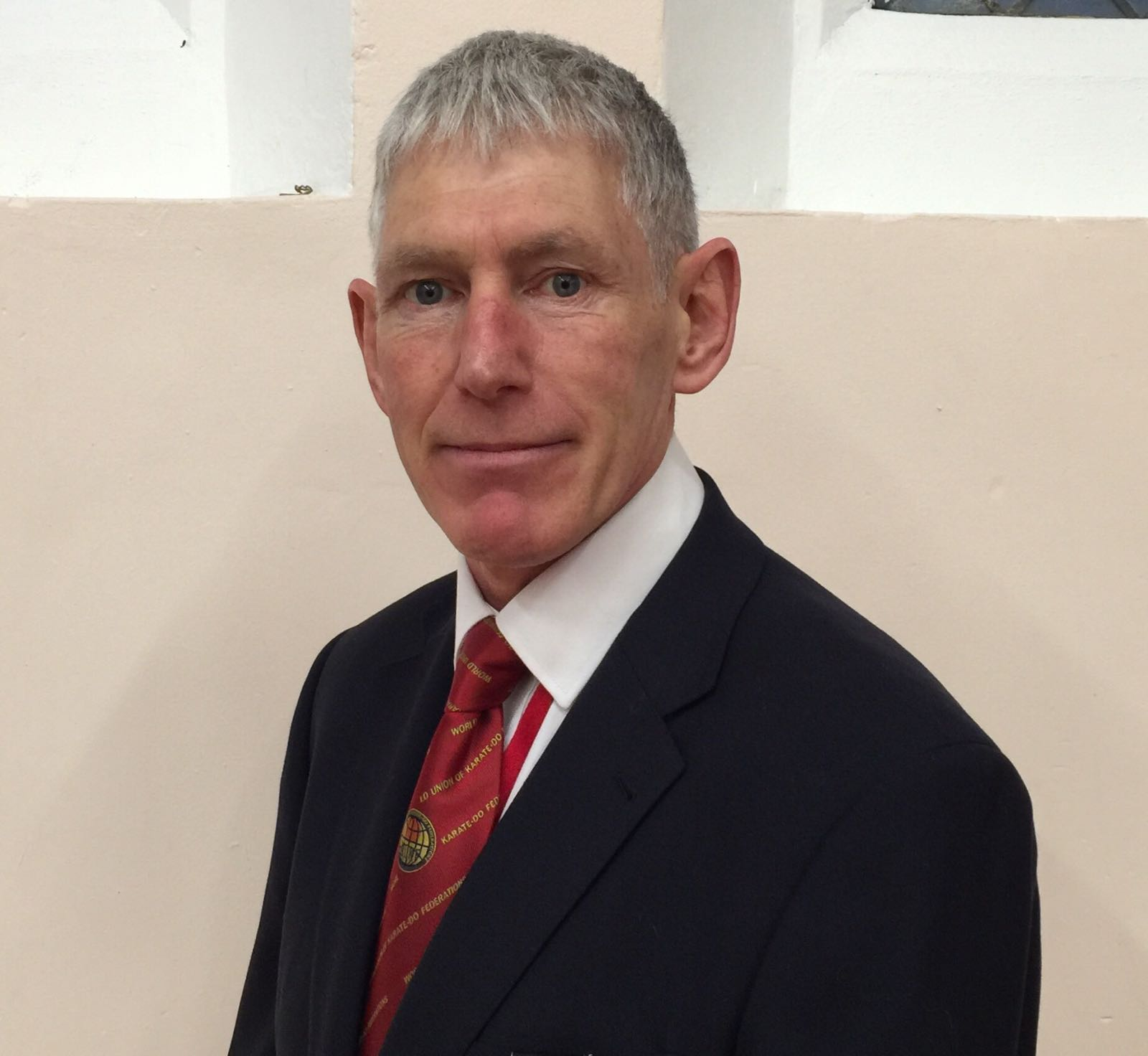 Sensei Colin Parker Chief Referee and DBS Officer