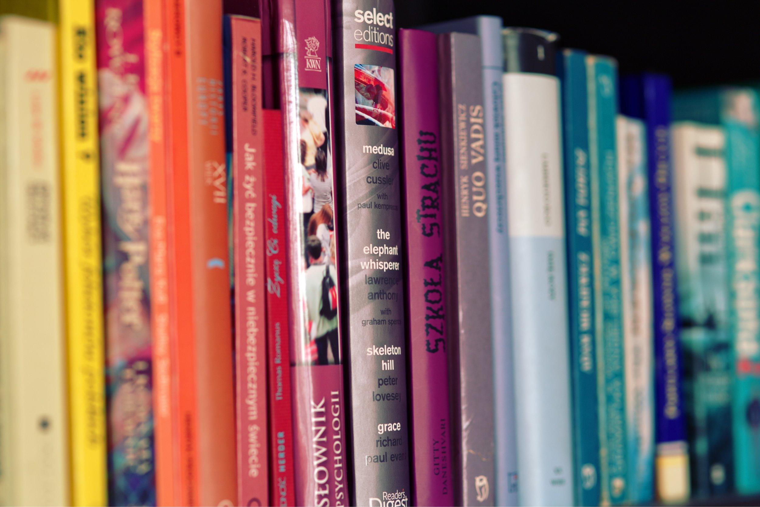 Books, Podcasts& Grants -
