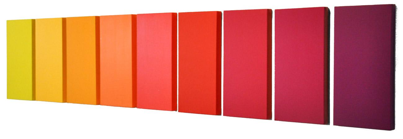 Gradation (reds) (2010)