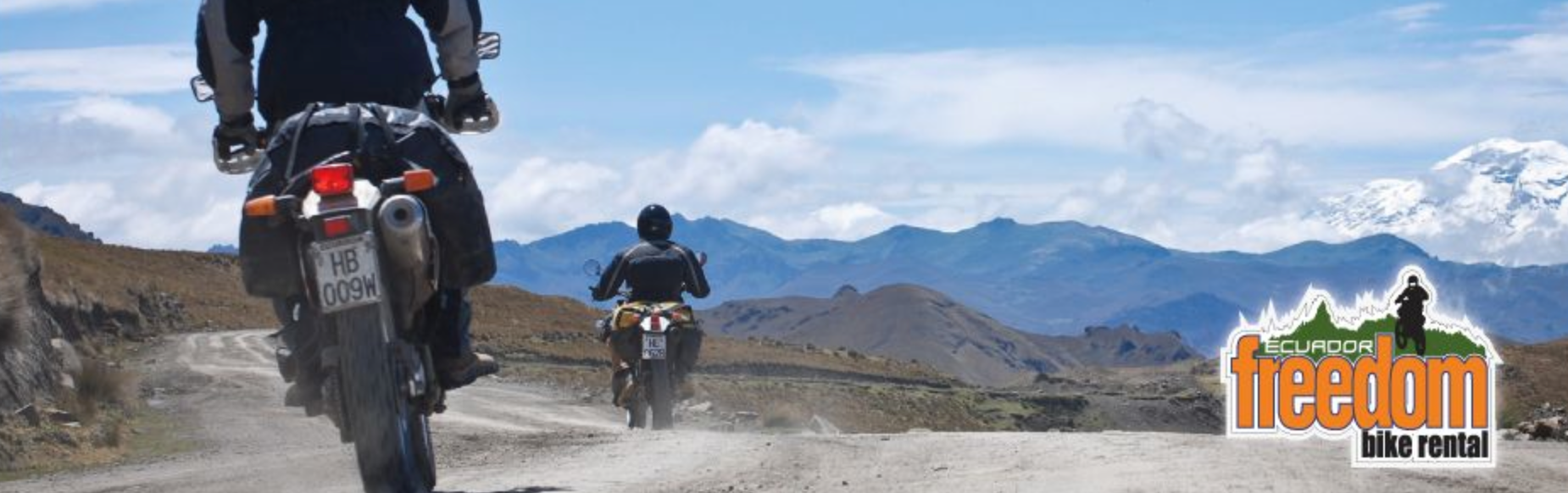 You can have this experience all on your own with a quick call to my friends at Ecuador Freedom Bike Rental. Just click the link below, make your reservation, and tell me it wasn't the best decision you've made all year.  www.freedombikerental.com