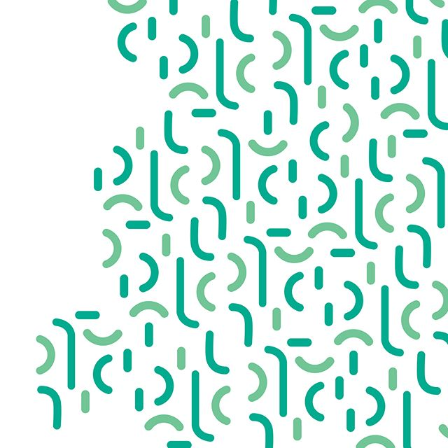 Pieces // Patterns // #patterns #patterndesign #logo #graphicdesign #design #modular #system #pieces #green #curves #arch