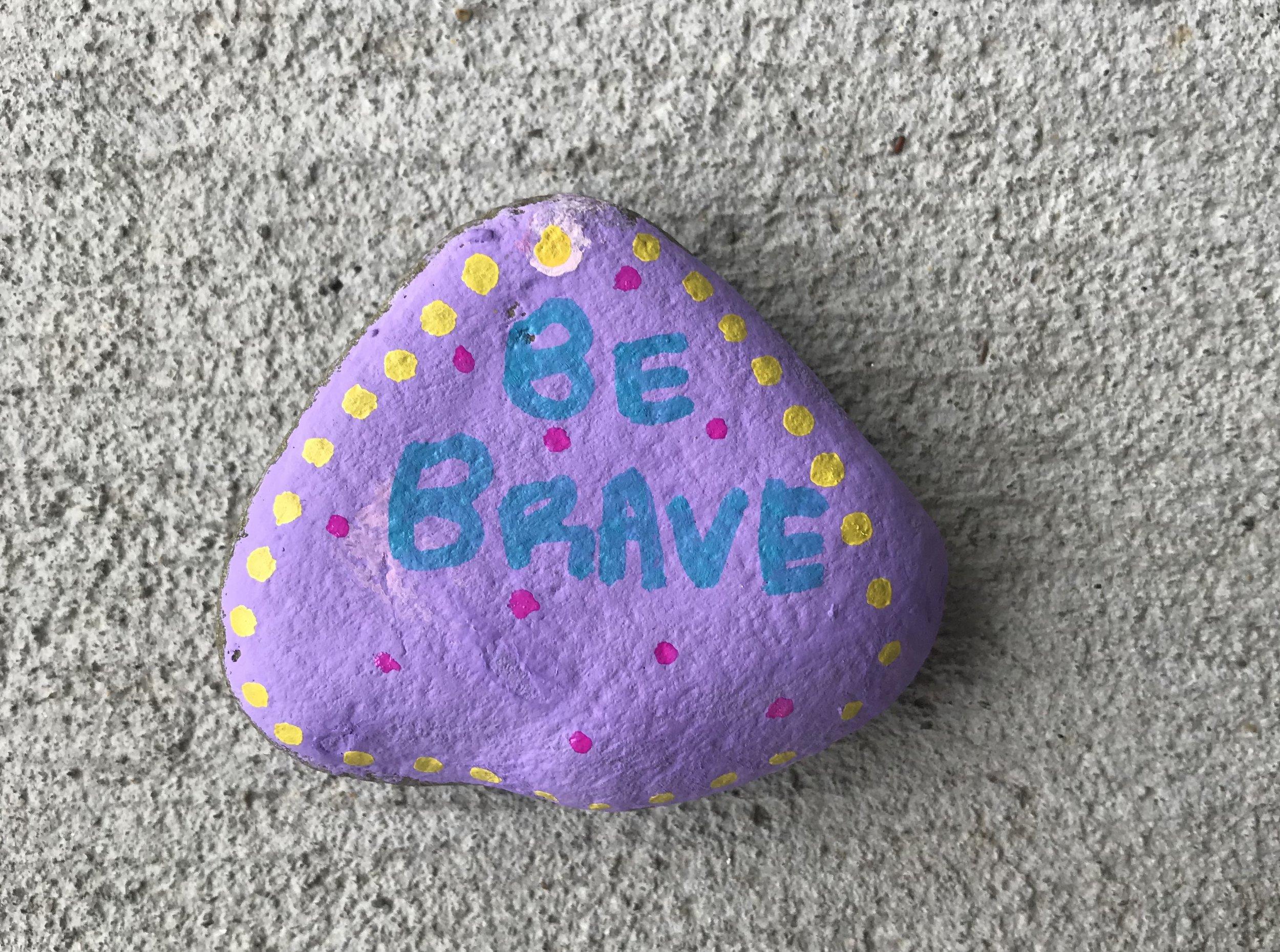 Kindness Rock created during Tween Yoga Summer Camp '18