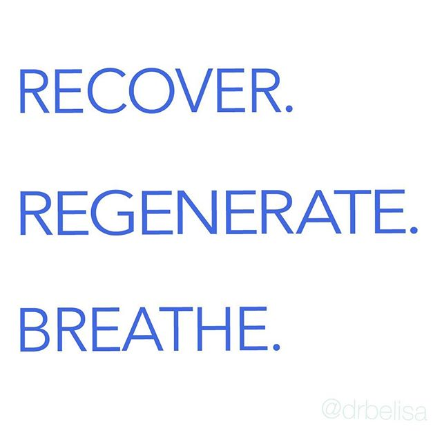 "Finally we are paying some attention into ""real"" recovery — not just ""not working out"" on your down day. What do you do to recover or regen? ________ #DrBelisa #BreatheWithBelisa #TheBreathingClass #BreathingForWarriors #Breathe #Breathwork #quotestoliveby #thursdayquote #thursdayquotes #ig_captures #quoteoftheday #dailyquotes"