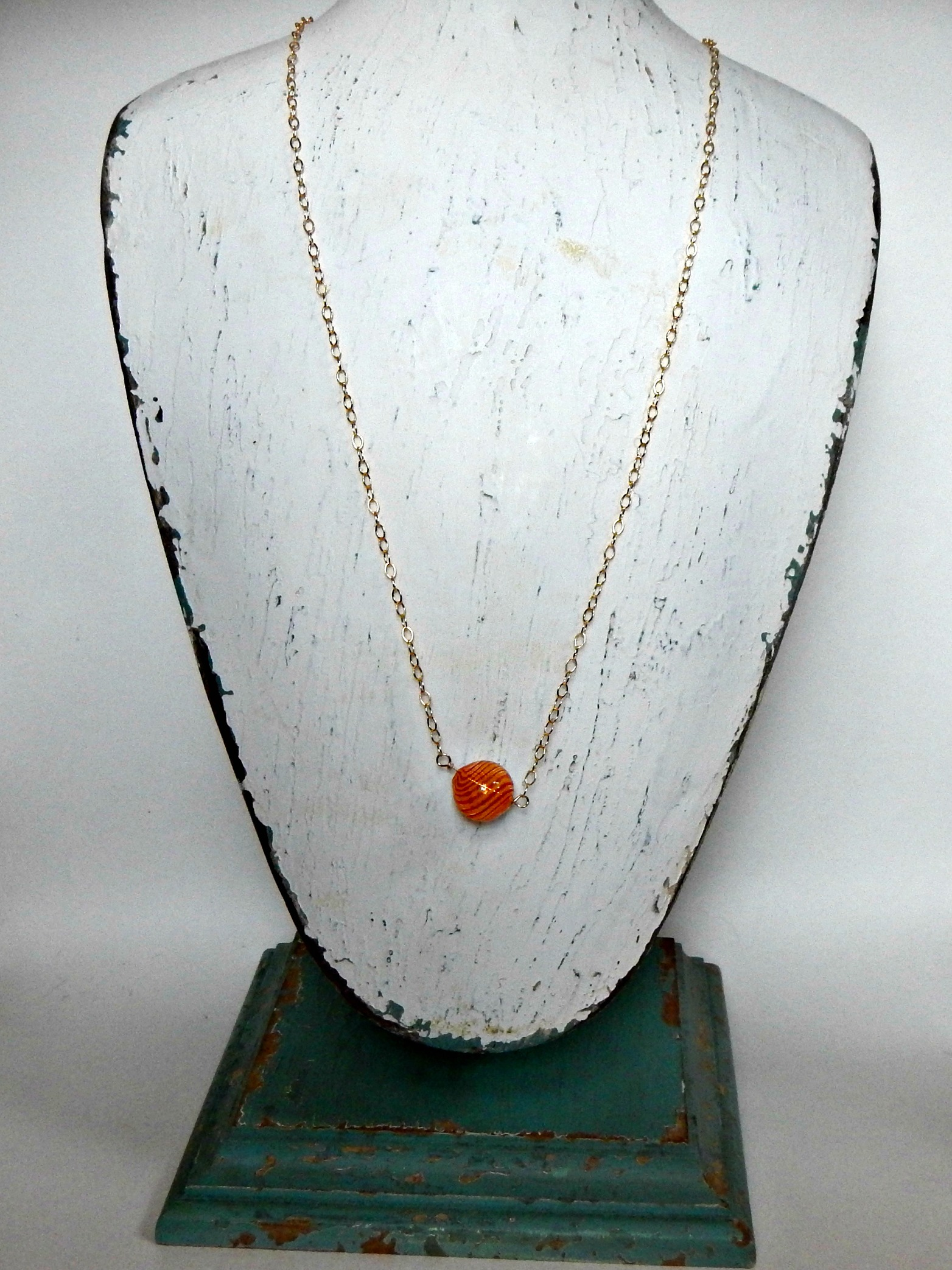 Orange Swirl with Leather Nape 2.jpg
