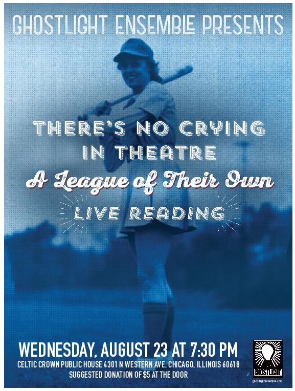 There's No Crying in Theatre: A League of Their Own Live Reading