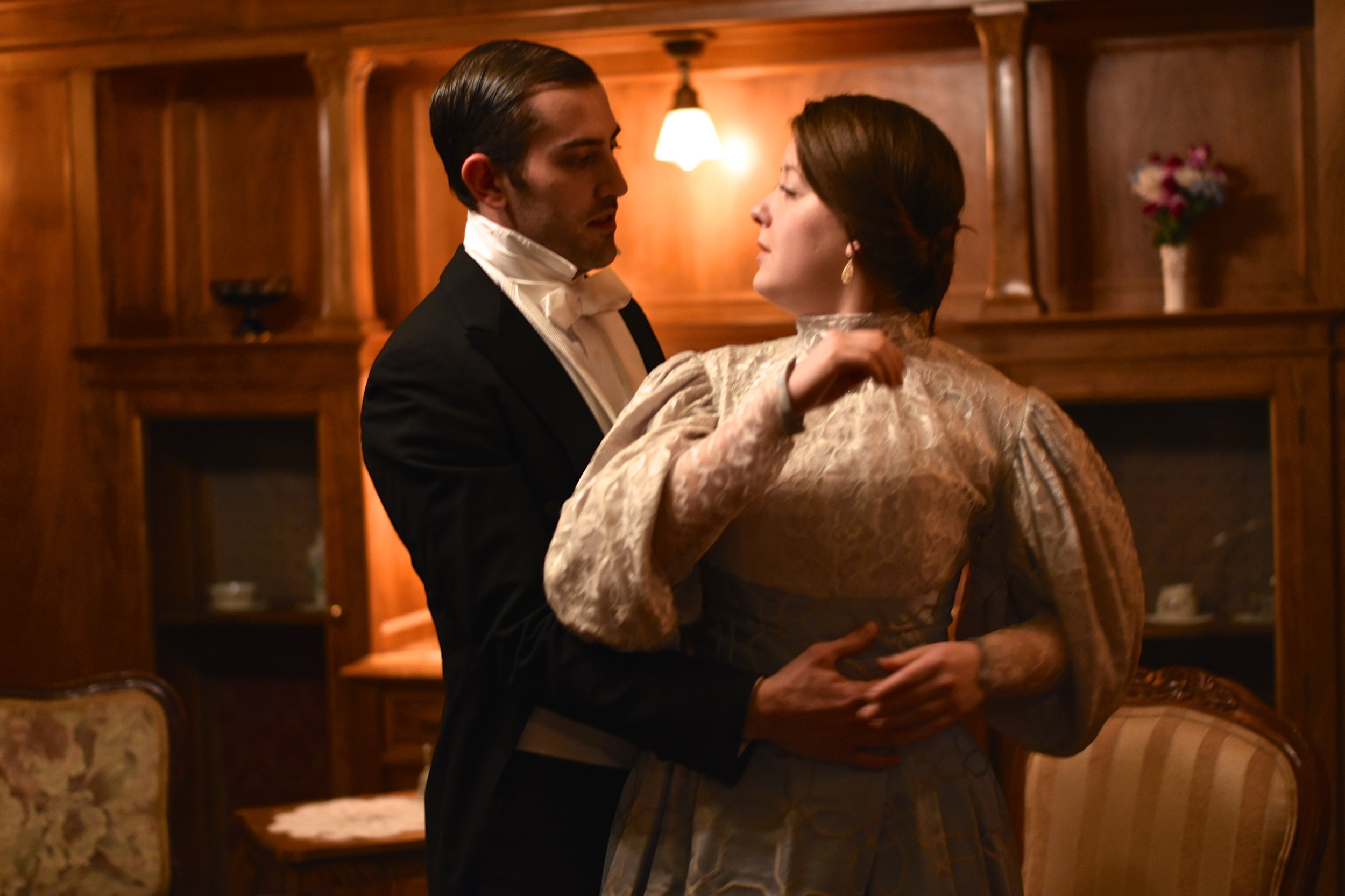 An Ideal Husband Photo Gallery     An Ideal Husband   by Oscar Wilde, was performed April 7 to April 28, 2018, at the North Mansion in Berger Park in Edgewater.