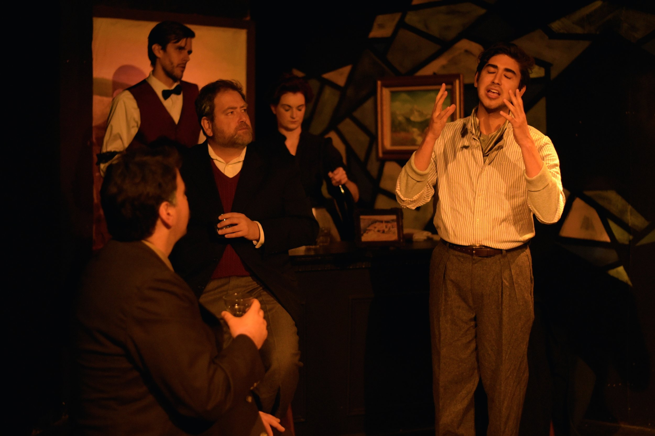 Picasso at the Lapin Agile  Photo Gallery     Picasso at the Lapin Agile   was performed October 19 to November 4, 2018, at Otherworld Theatre in Lakeview.