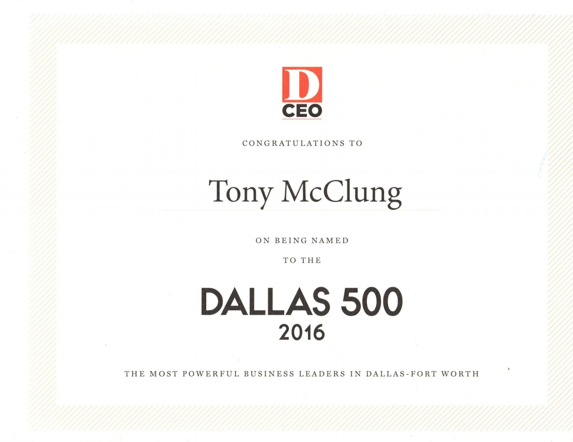 Dallas 500