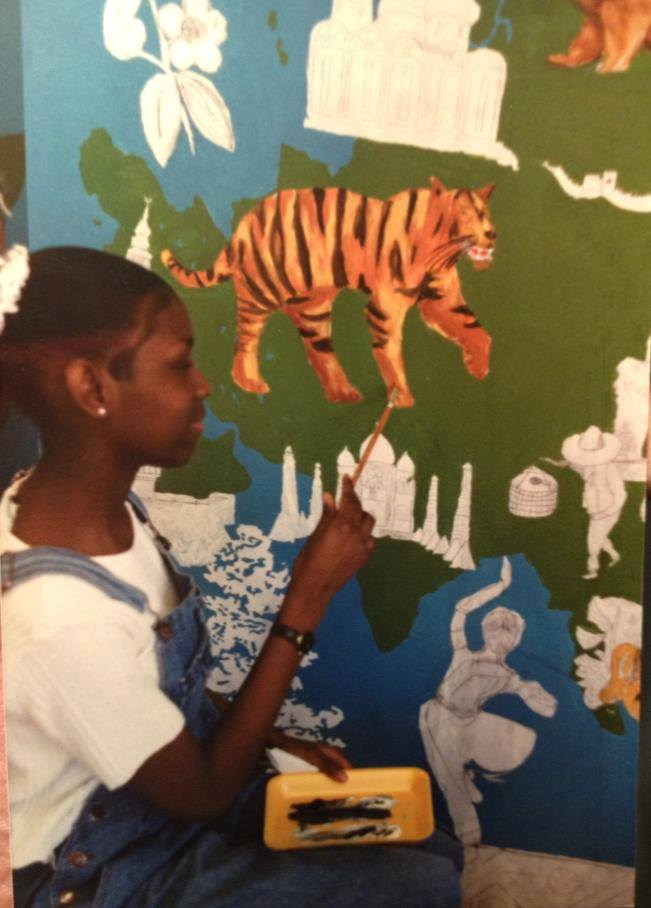 Middle School Mural, Age 13
