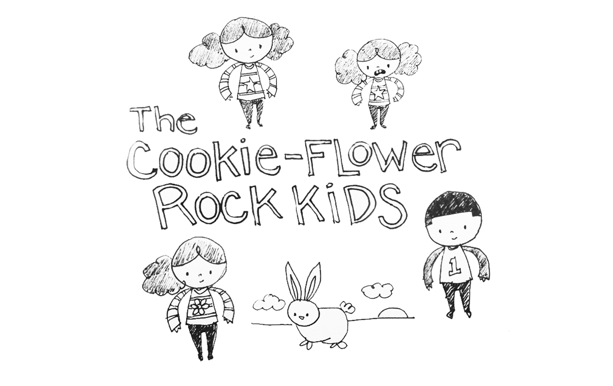 The Cookie-Flower Rock Kids