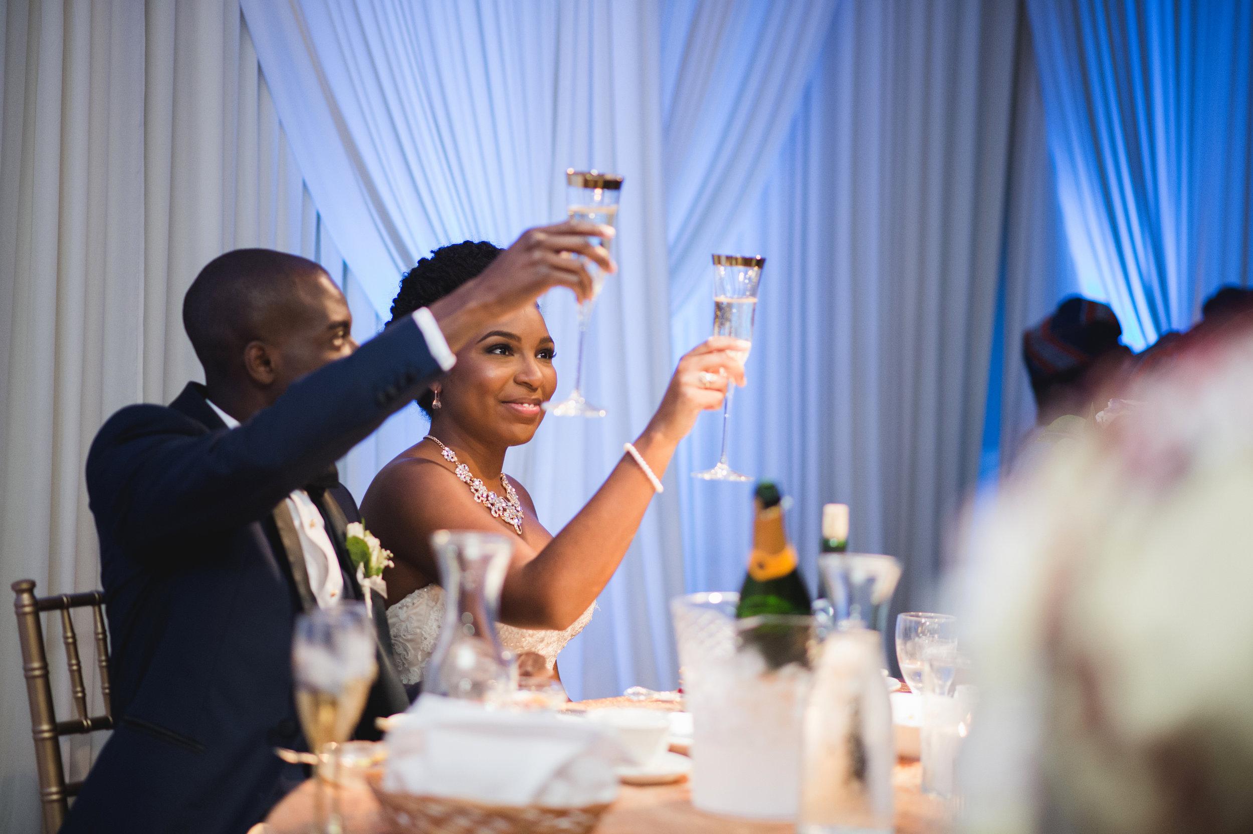 black-married-couple-wedding-toast