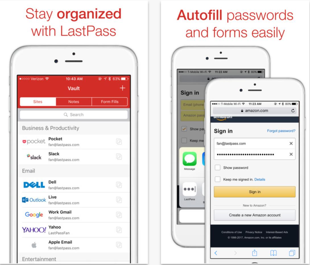 lastpass-password-storage-app