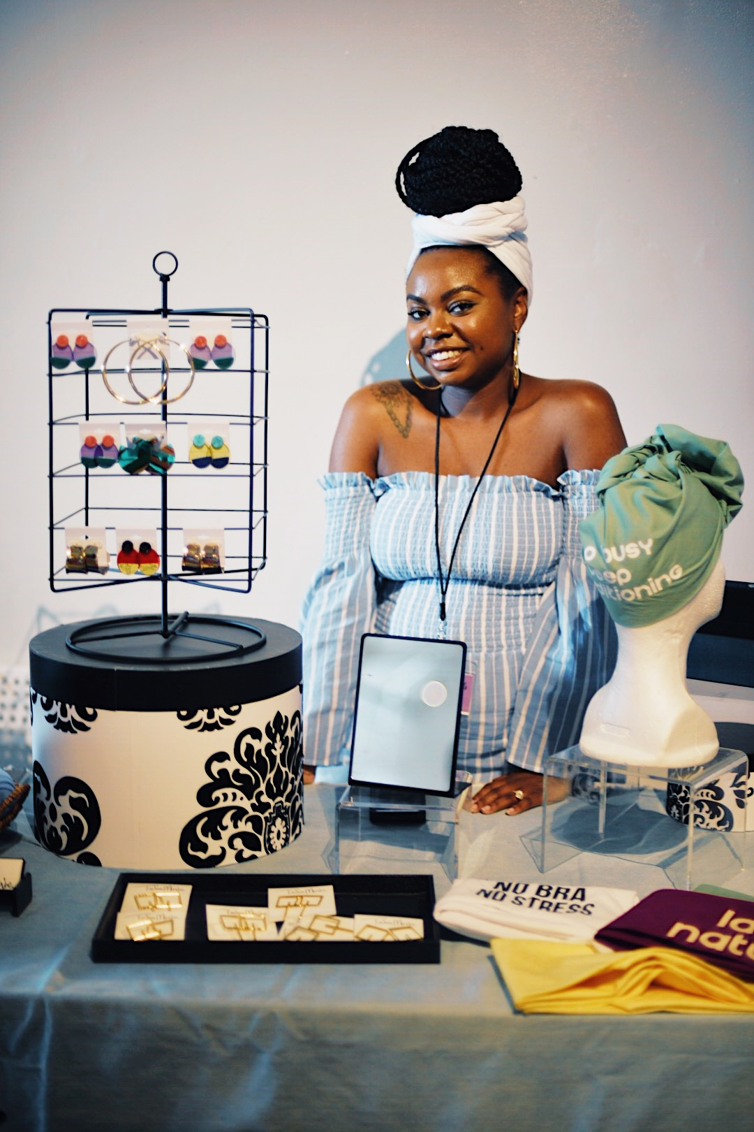 Tailor Marie— custom head wraps + accessories