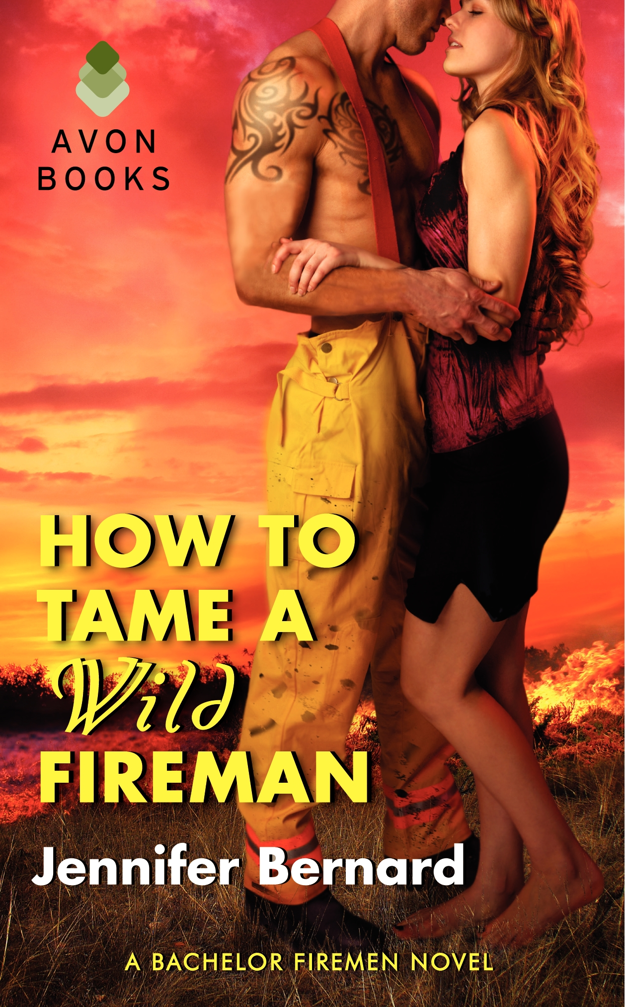 Jennifer Bernard The Bachelor Firemen of San Gabriel How to Tame a Wild Fireman 4.jpg