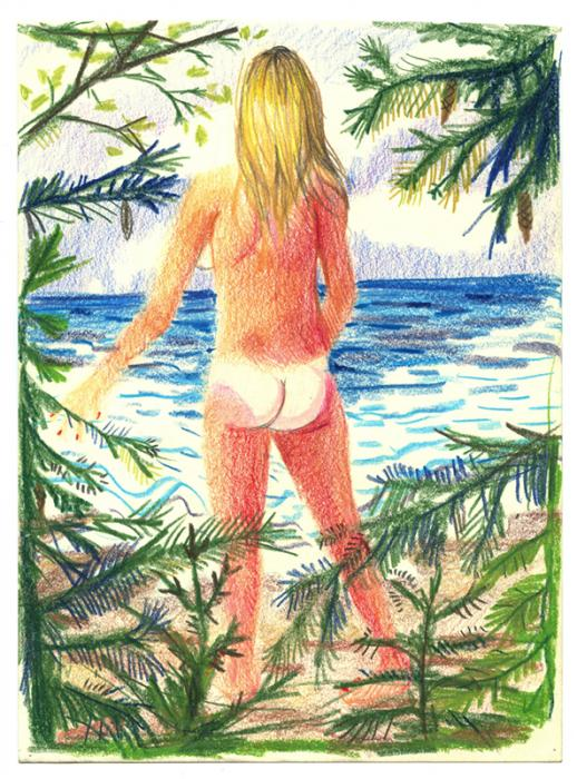 Nikki Maloof_figure on beach.jpg