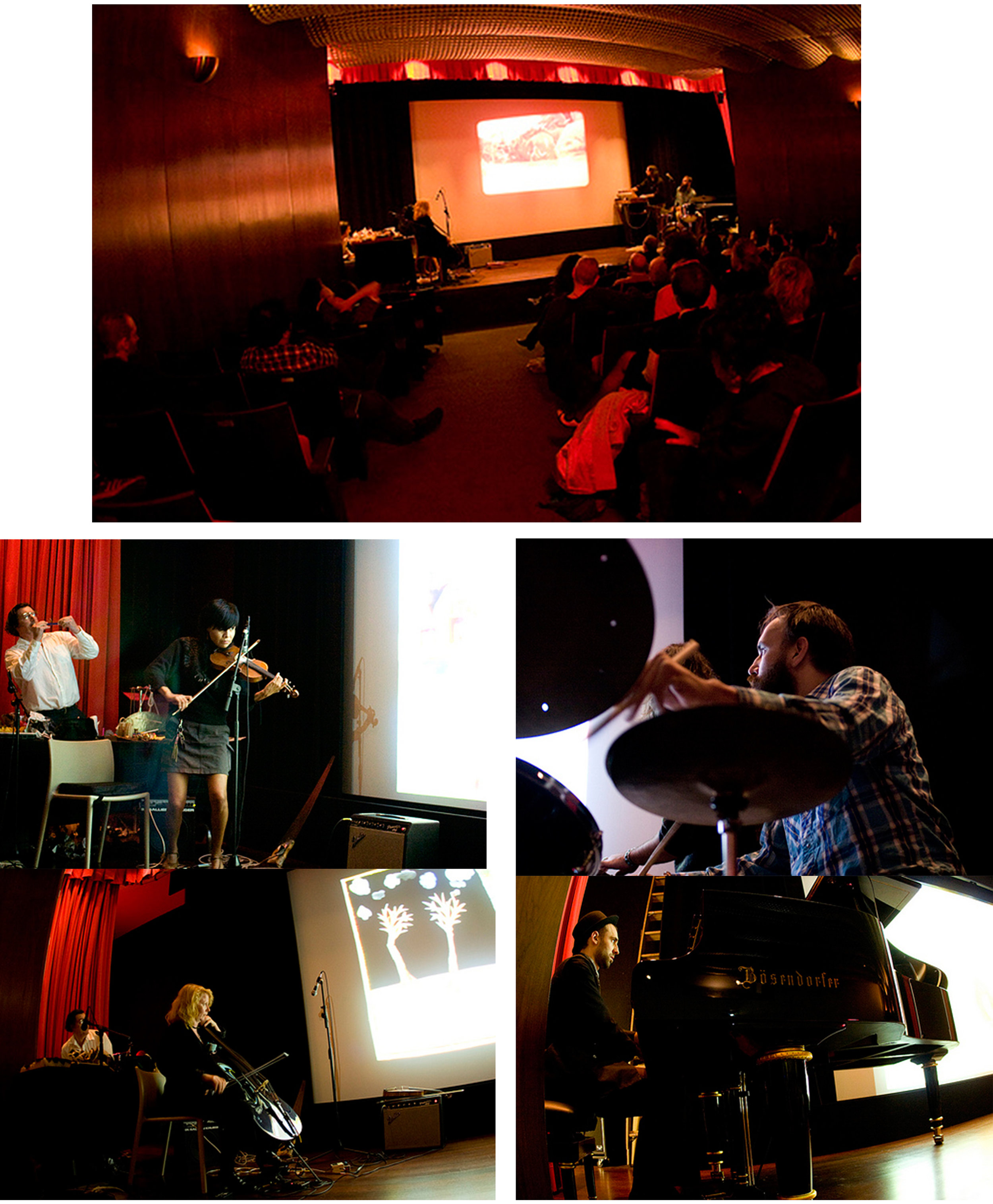 """""""Don't Kill the Weather Man!""""performance at Museum of Arts and Design, New York, NY. 2009"""