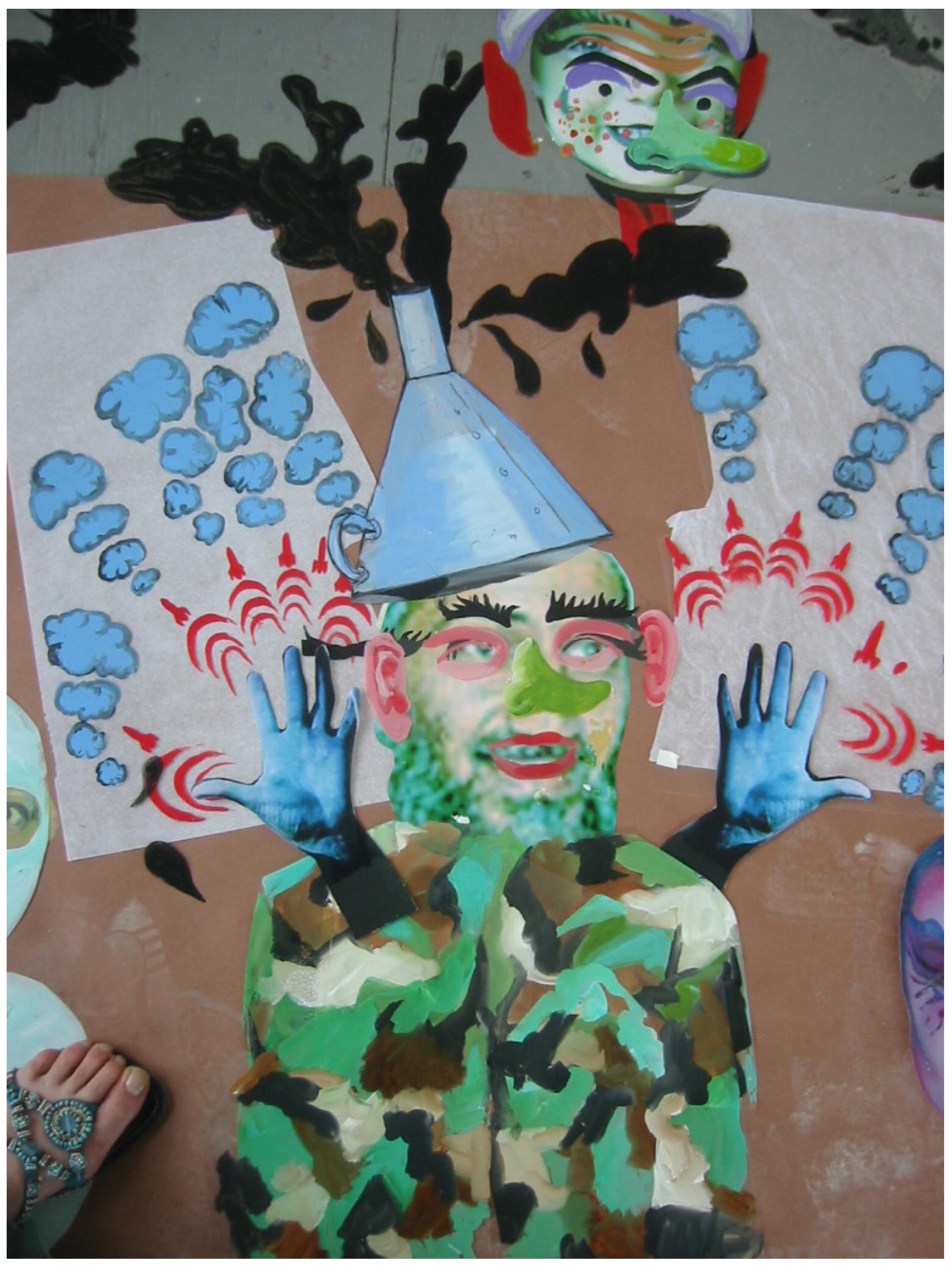 """Meet me in Wichita"" (Production Artwork).2006"