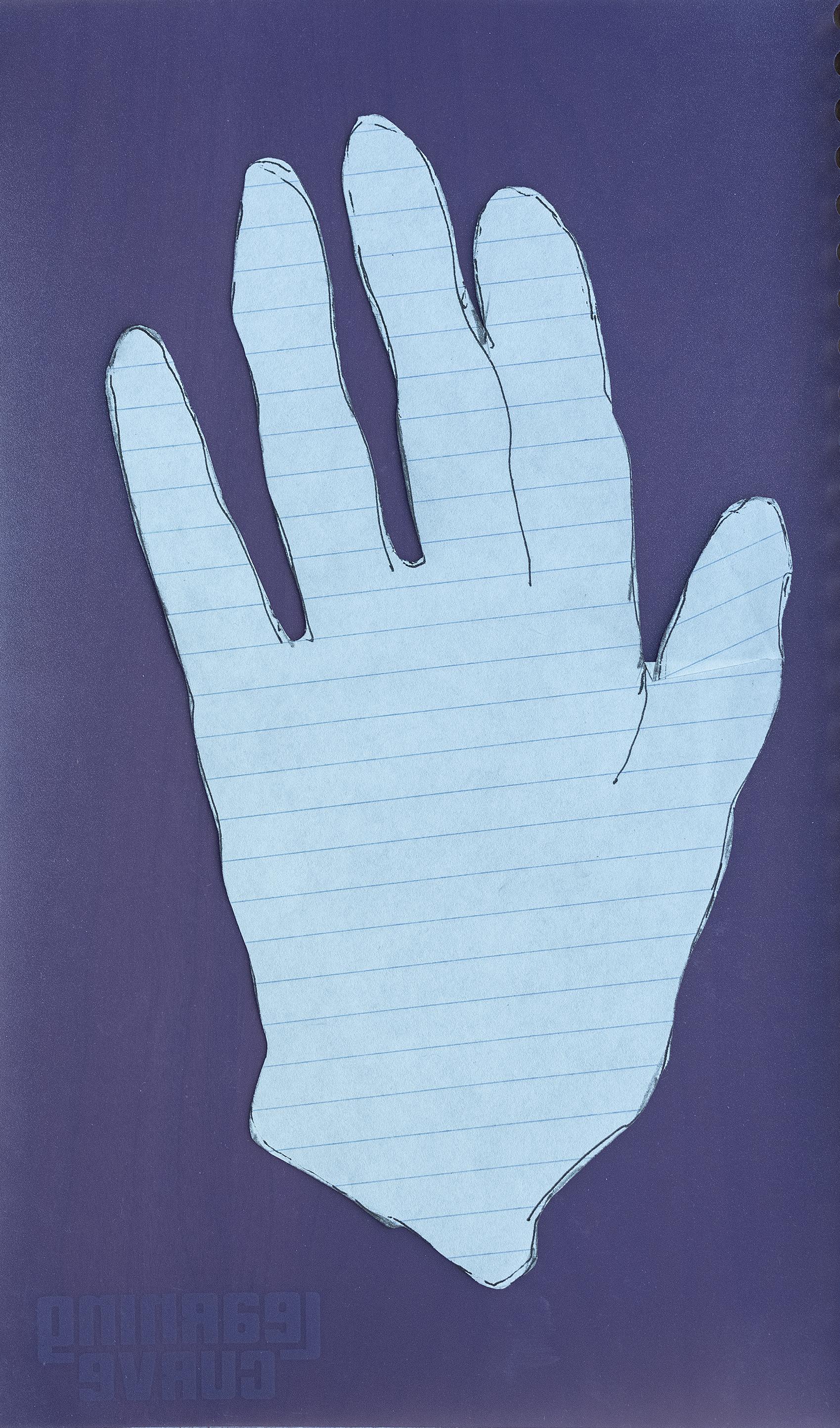 Nan's hand I, 2018