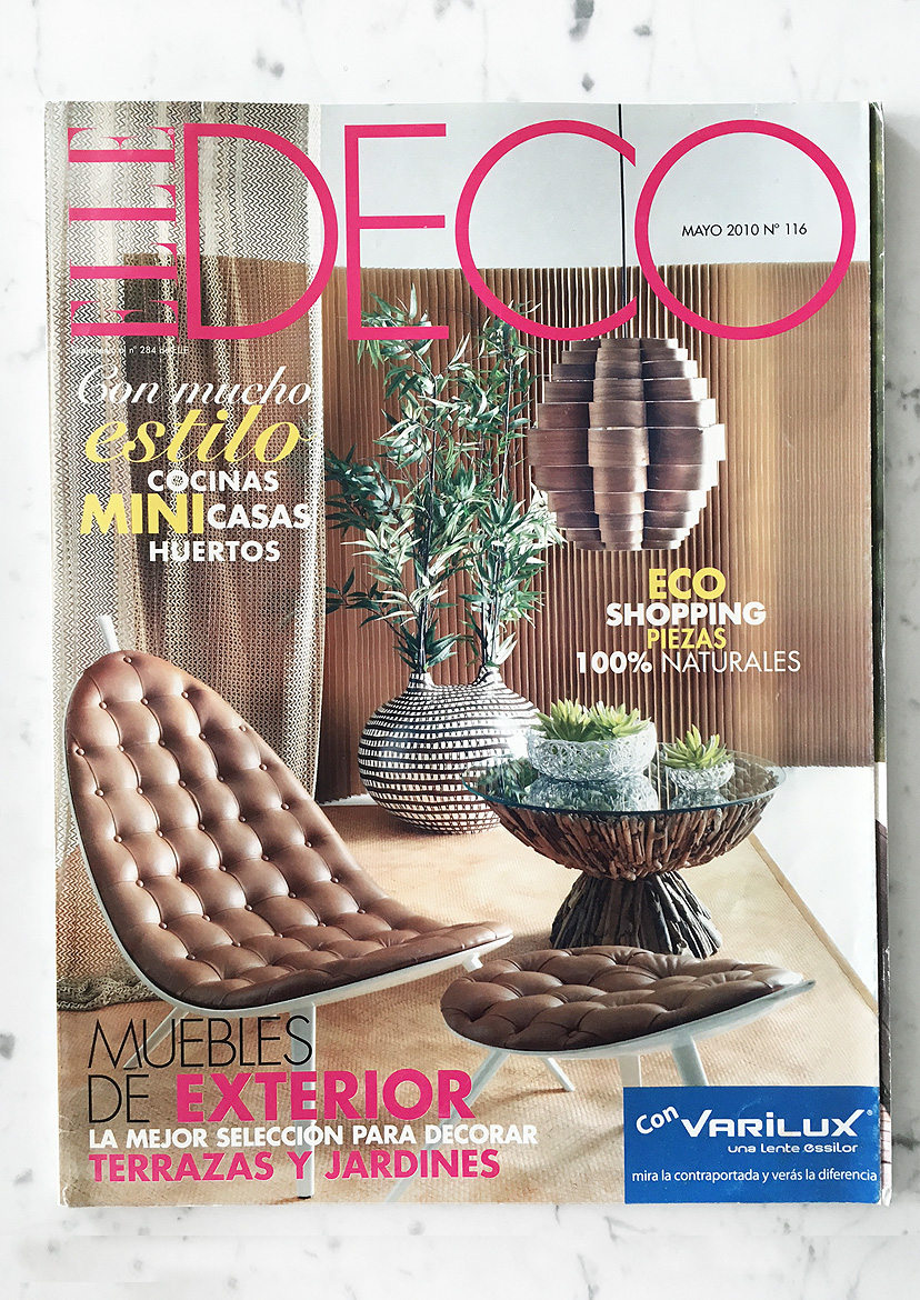 ELLE Deco (ES) N° 116 May 2010