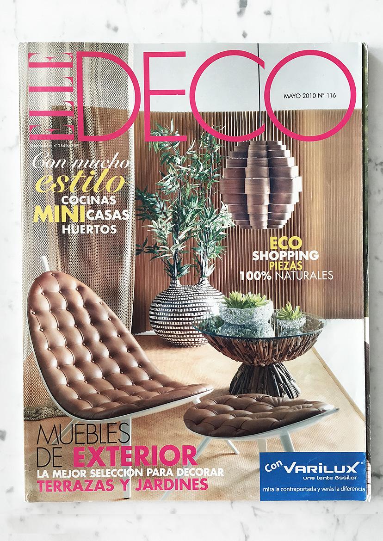 ELLE Deco (ES) N° 116 May 2010
