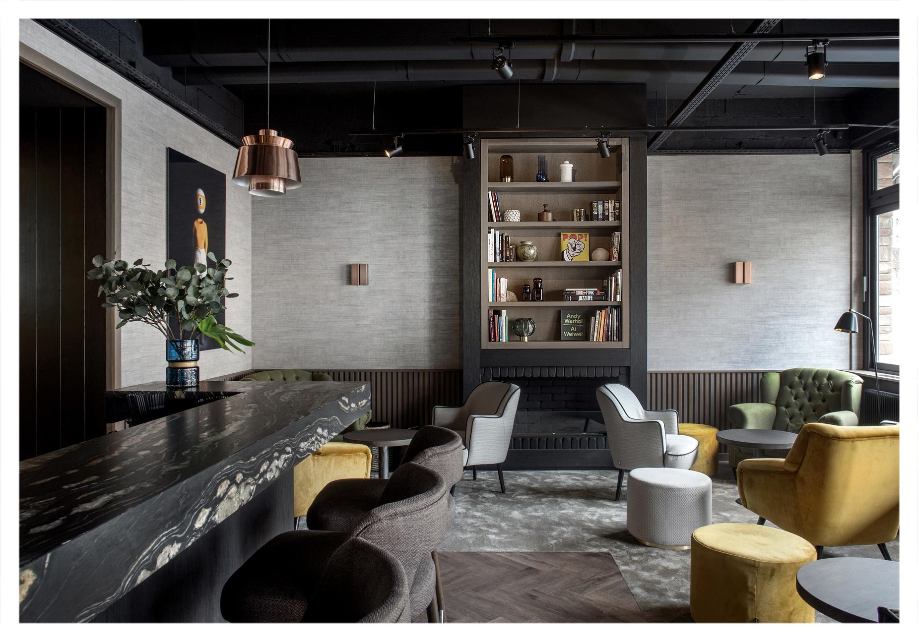Hôtel Vaillant Bar and Lobby  Sélestat, France 2019