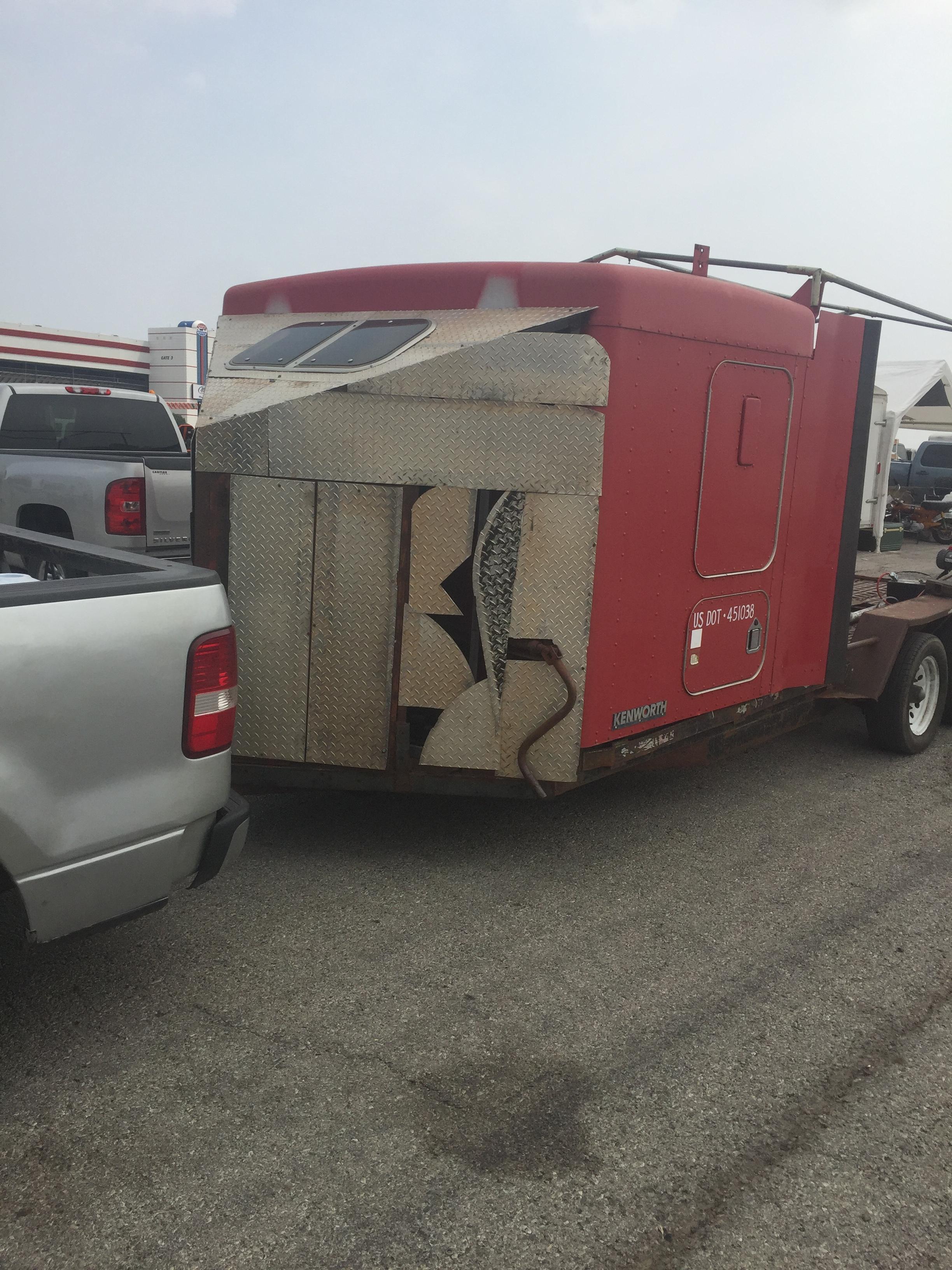Crazy sleeper trailer.