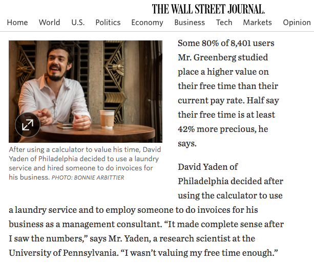 The Wall Street Journal, Photo for Print and Web, 2015