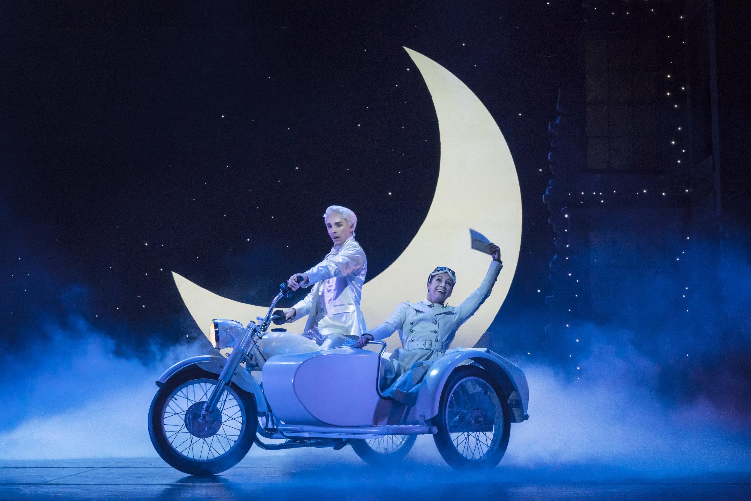 6. MATTHEW BOURNE'S CINDERELLA. Liam Mower 'The Angel - Cinderella's Fairy Godfather' and Ashley Shaw 'Cinderella' . Photo by Johan Persson.jpg