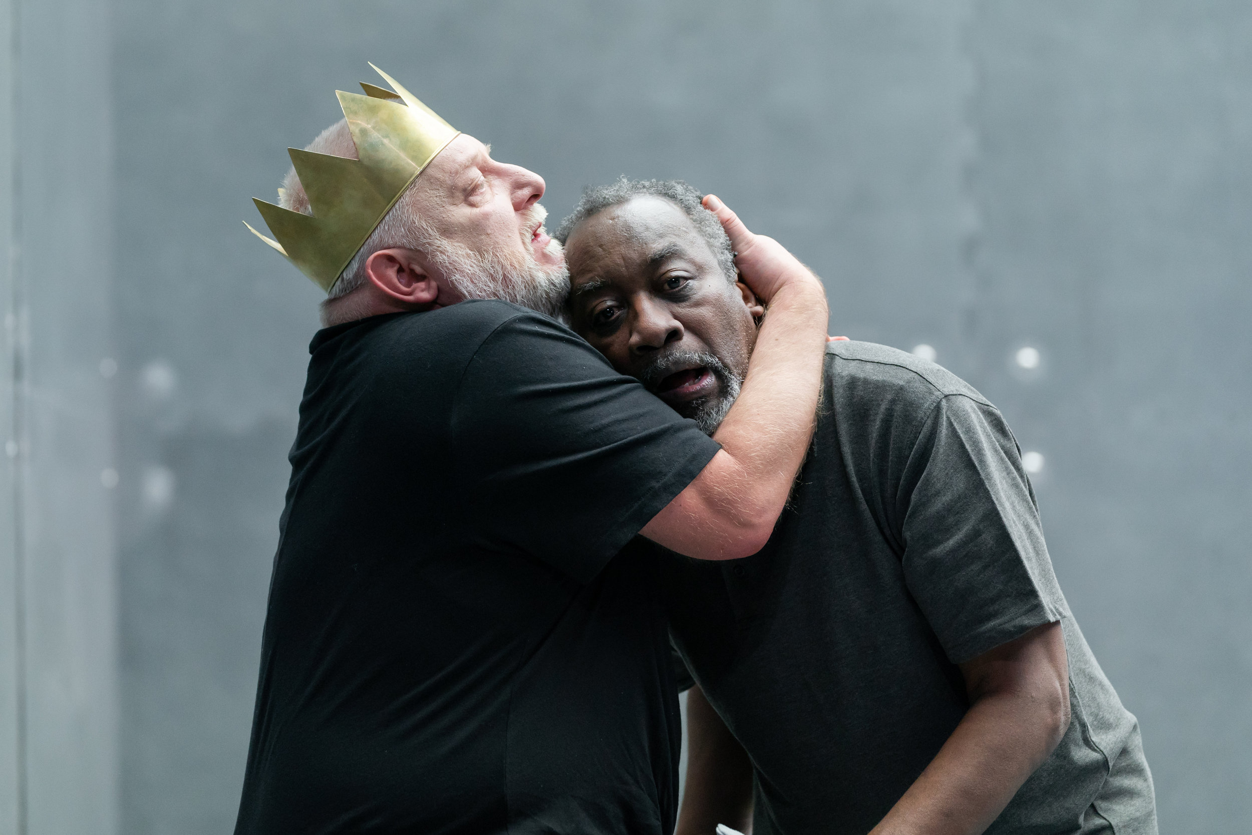 NTL 2019 Richard II - Simon Russell Beale and Joseph Mydell. Photo by Marc Brenner.jpg