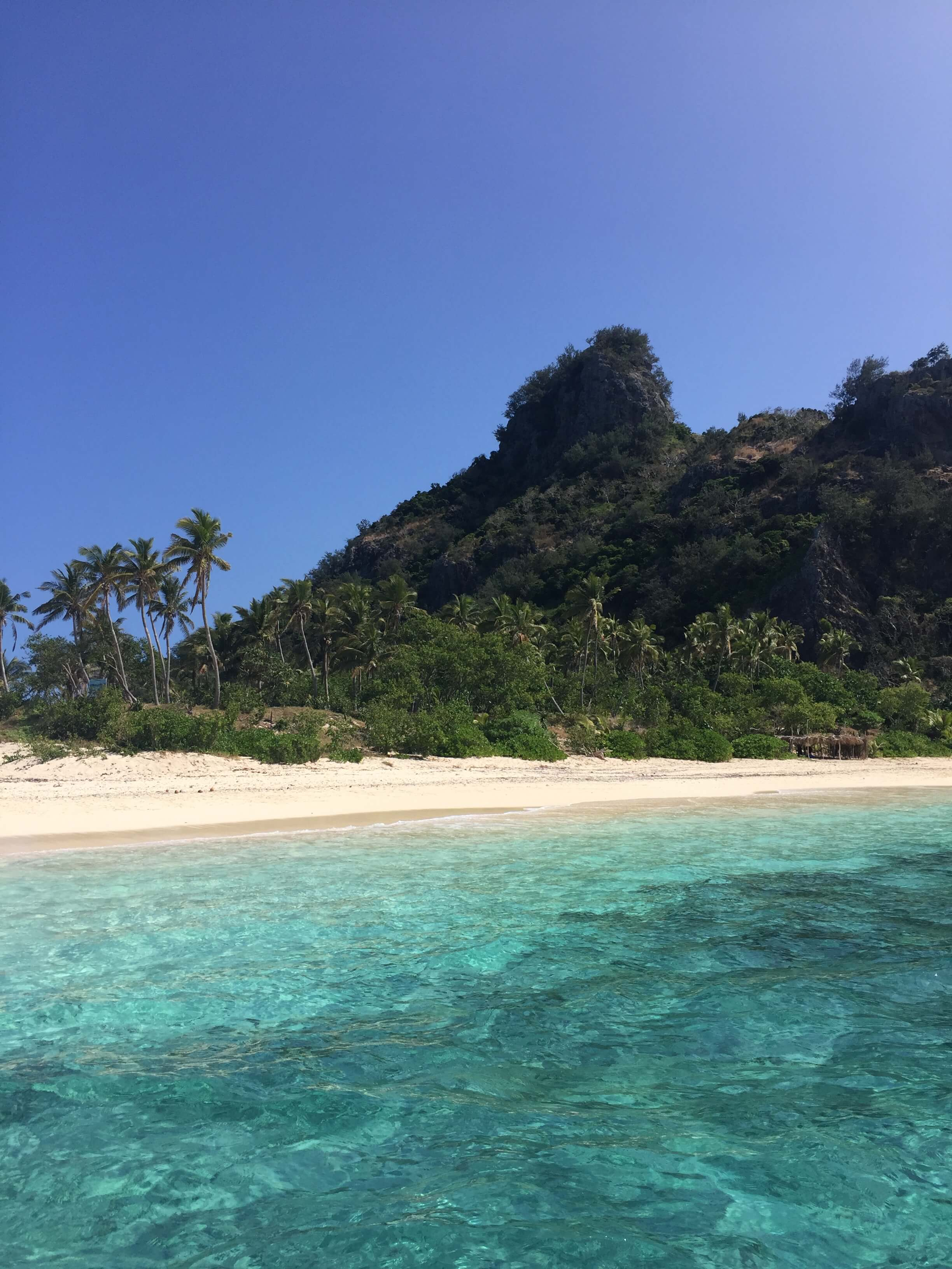 A day trip to the uninhabited Mondriki Island, where the Tom Hanks' movie, Castaway, was filmed.