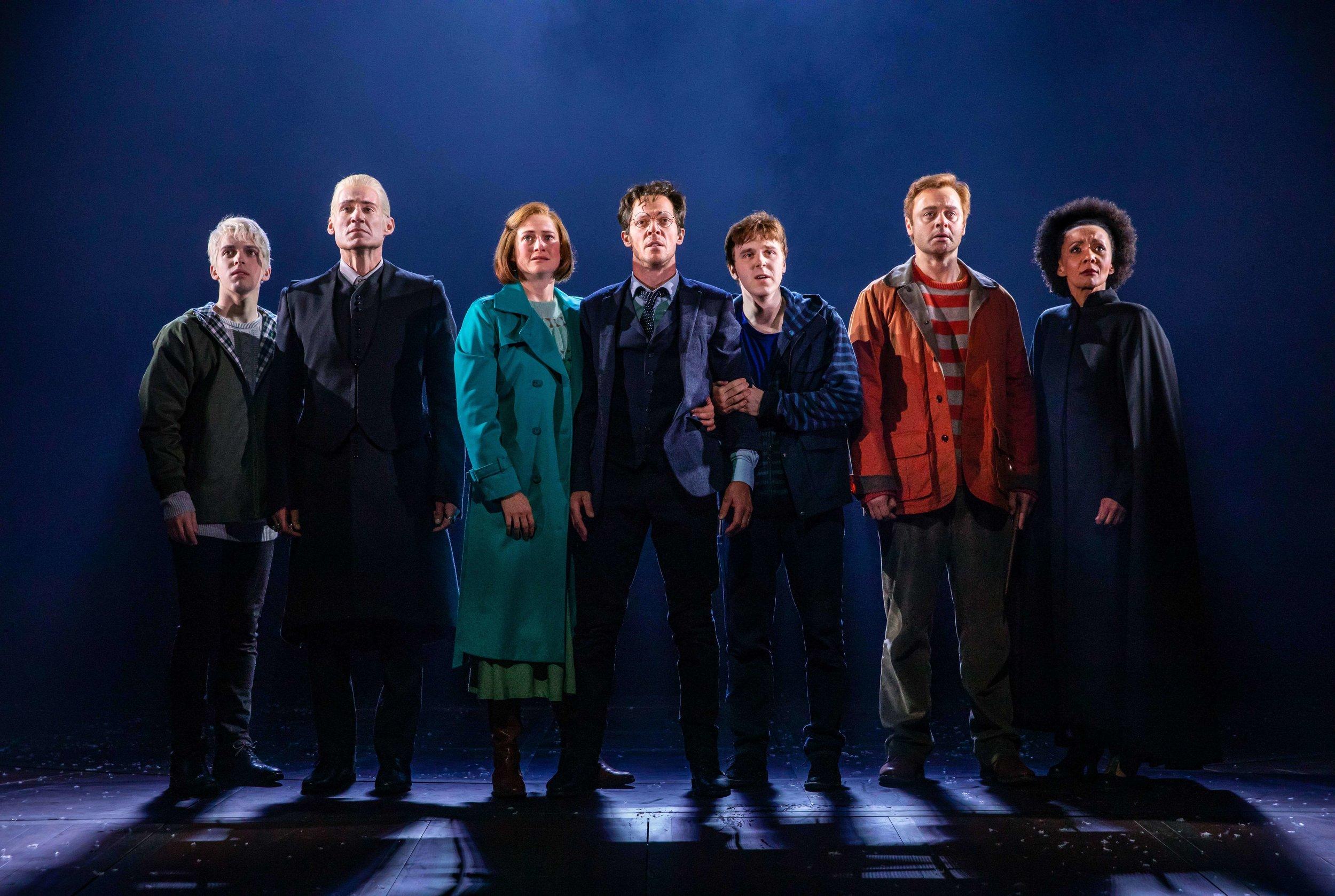 Harry Potter and The Cursed Child Australian cast.   Photo: Matt Murphy