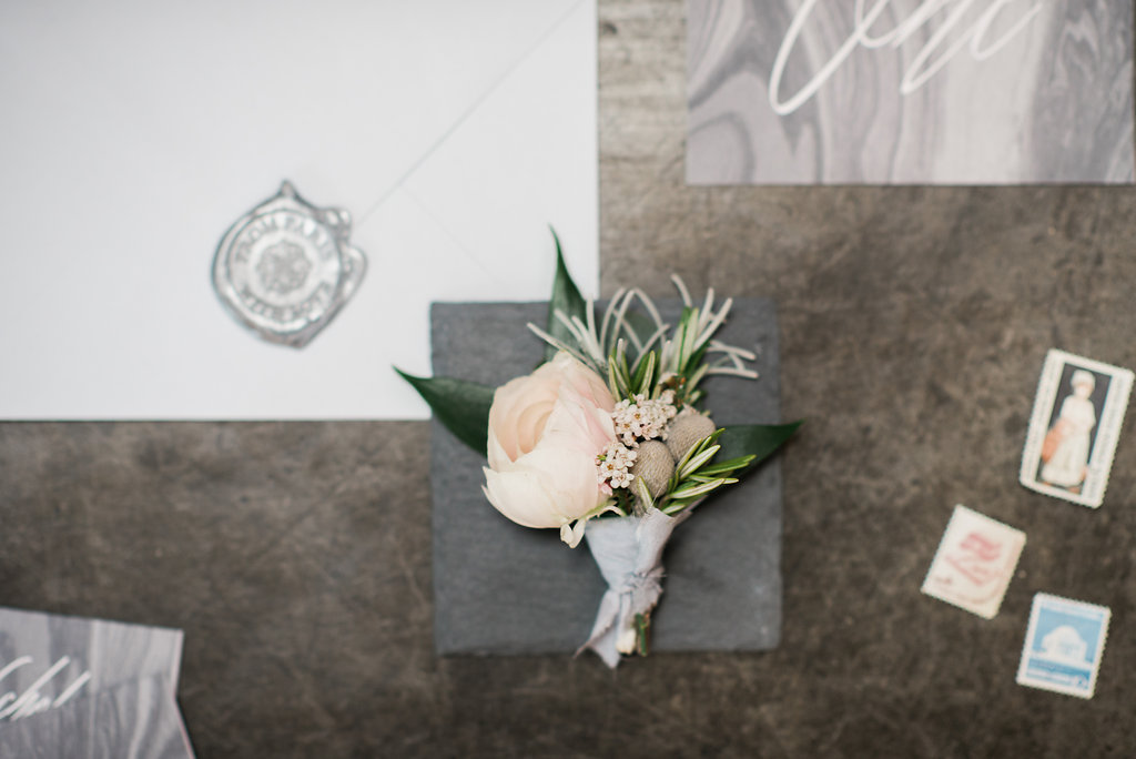Industrial Romantic Styled Shoot : Corradetti Glassblowing Studio   Joy Michelle Photography
