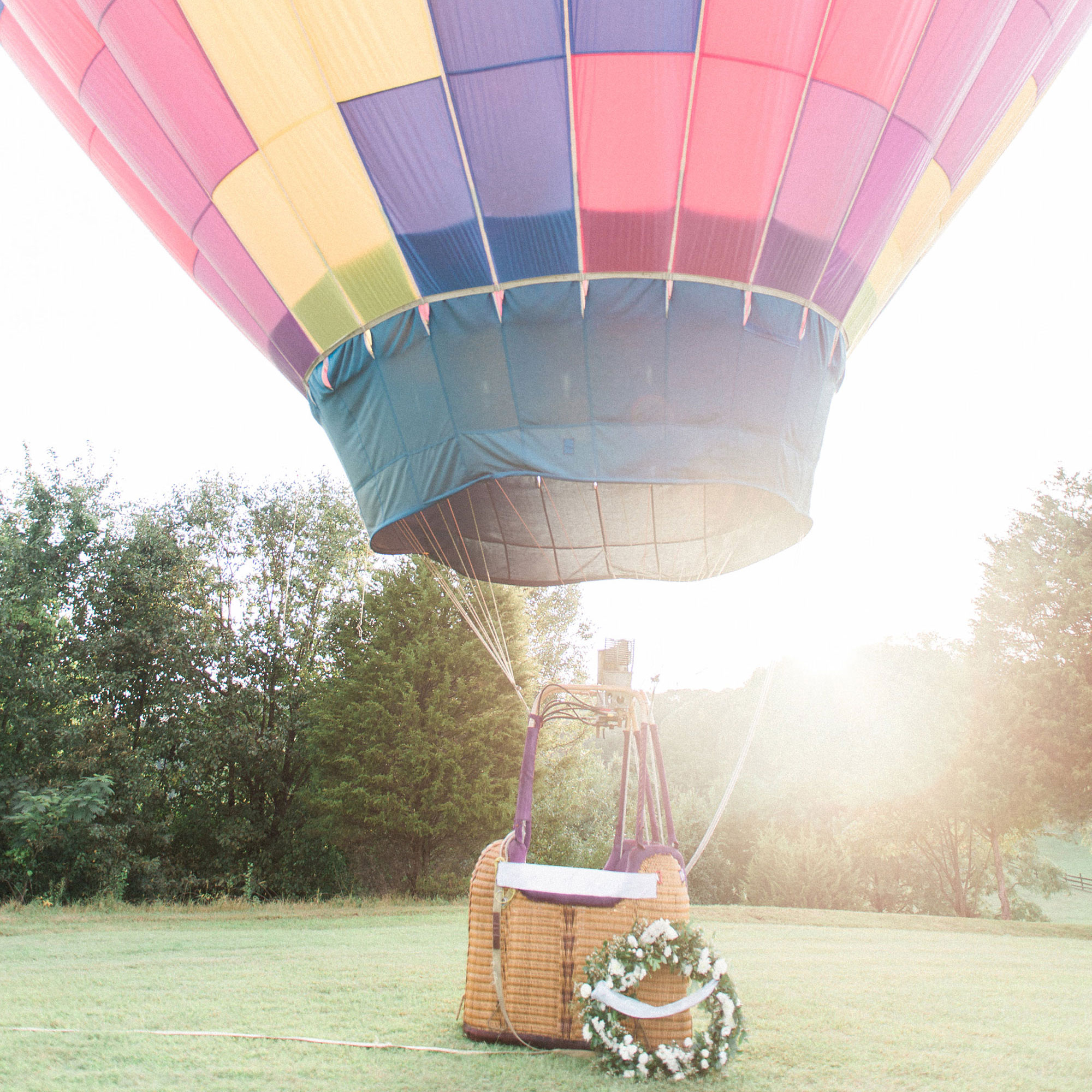 Hot Air Balloon Maternity Shoot  Joy Michelle Photography