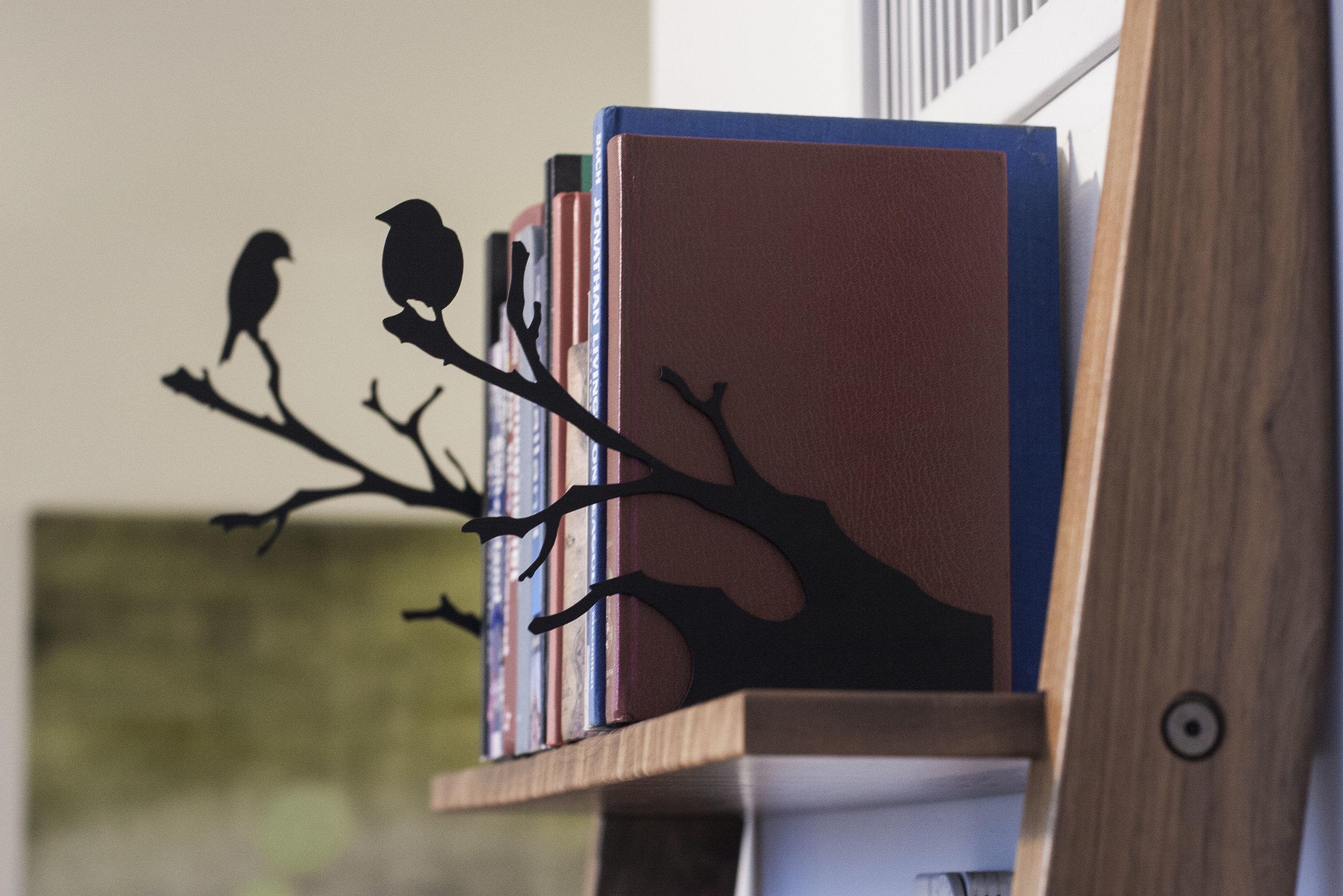 - Bird Bookends