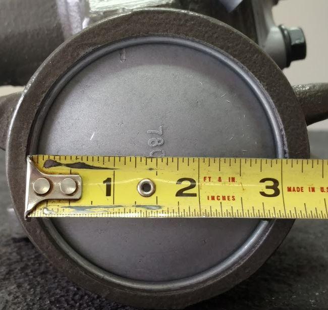 """3"""" Gearbox measurement"""