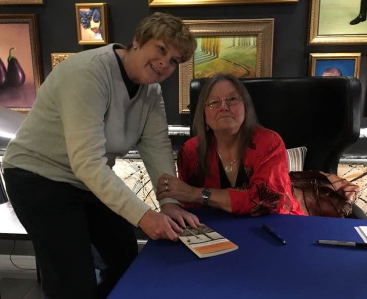 Still love this great moment, from two years ago. I got to meet the amazing Dorothy Allison and get her autograph. I so want to be her when I grow up!