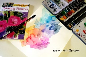 Painting Flowers in Watercolour with Fiona Peart