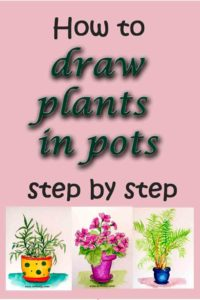 Want to draw plants in pots? Of course you do. Here's how..