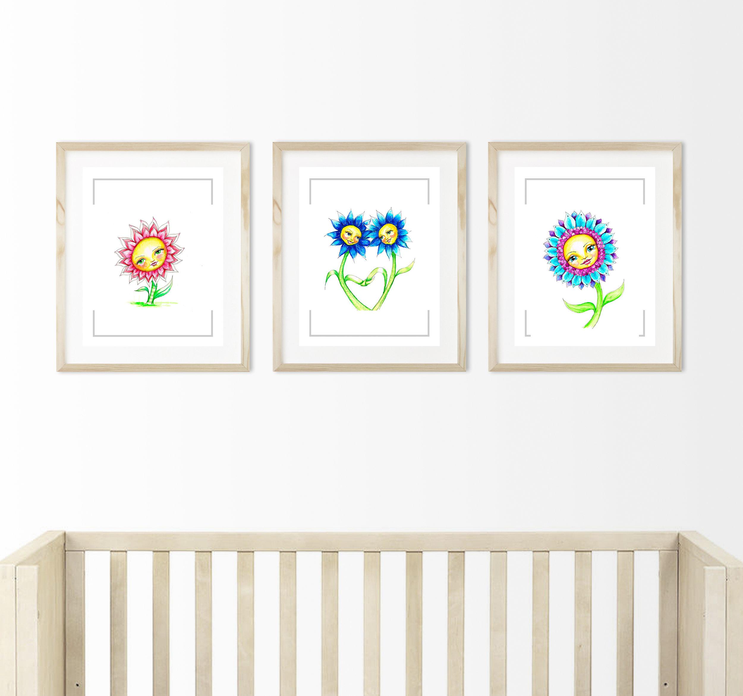 3 daisies nursery mock up square crop.jpg