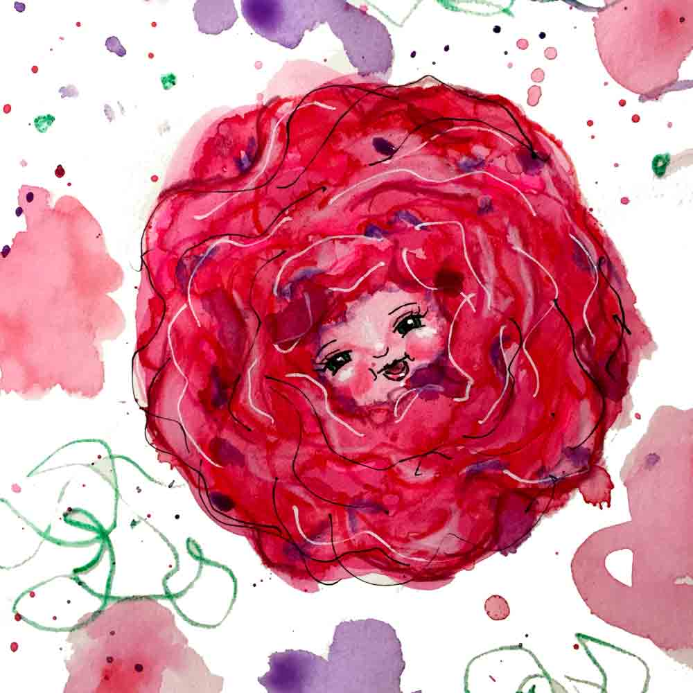 Flower face no 5