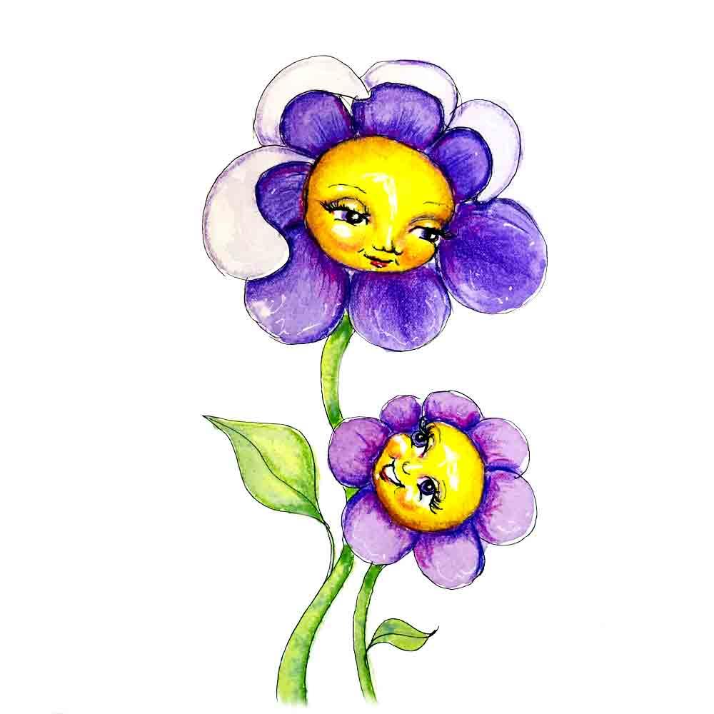 Flower Face no 14 Arttally