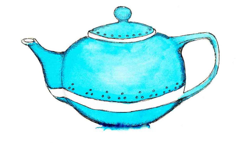different types of tea arttally