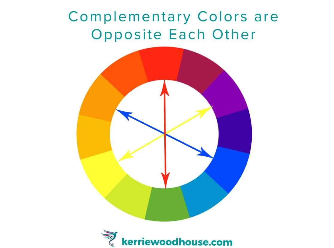How To Improve Your Paintings With A Little Complementary Color Theory Kerrie Woodhouse