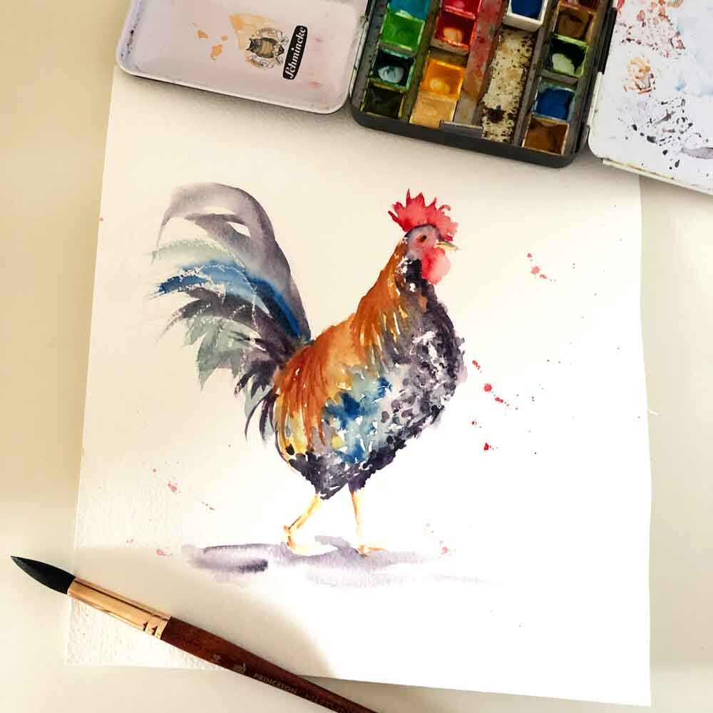 Easy Watercolor Ideas For Beginners 7 Good Things To Paint Kerrie Woodhouse